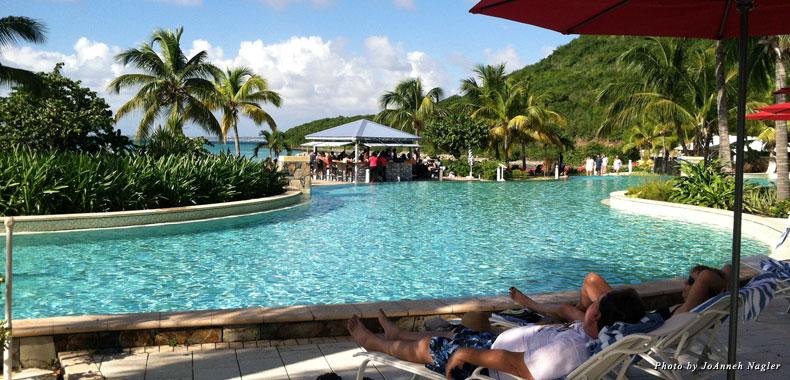 Poolside meets beachside heaven