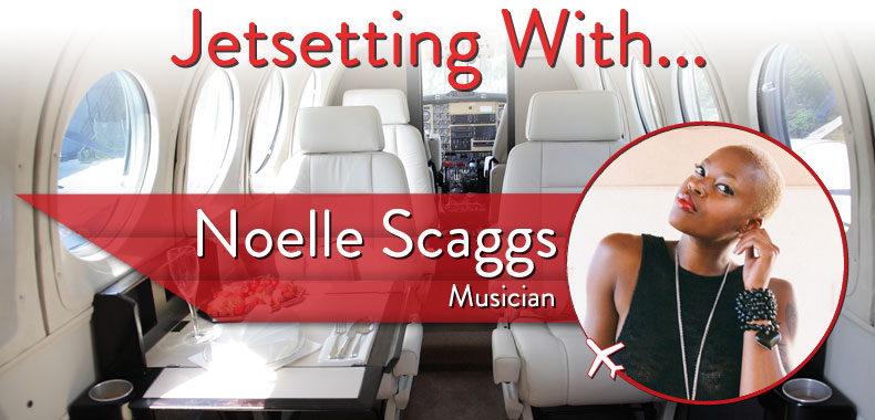 Jetsetting With Fitz and the Tantrums' Noelle Scaggs