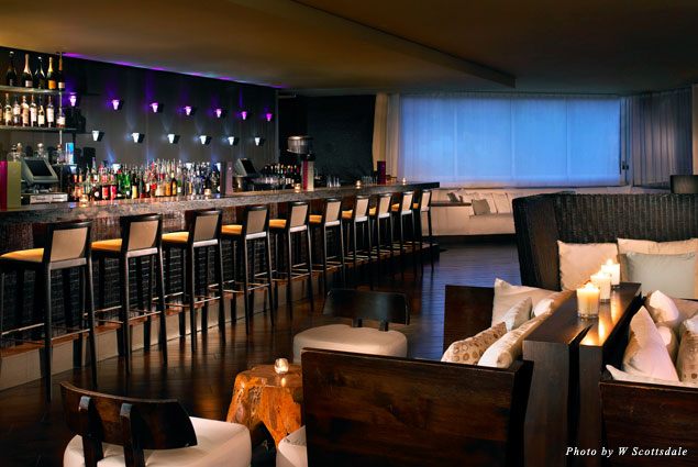 W Scottsdale's Shade Lounge and Bar