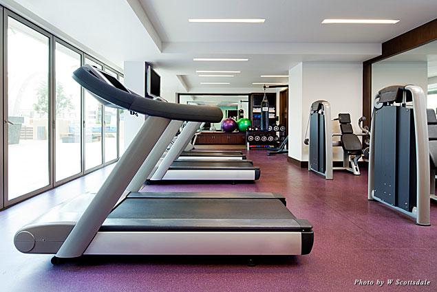 W Scottsdale's gym