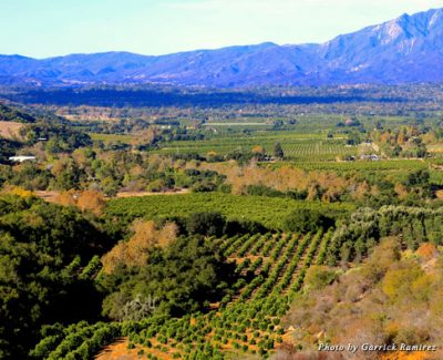 A view of the Ojai Valley