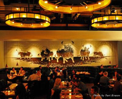 Dining room at Lolinda