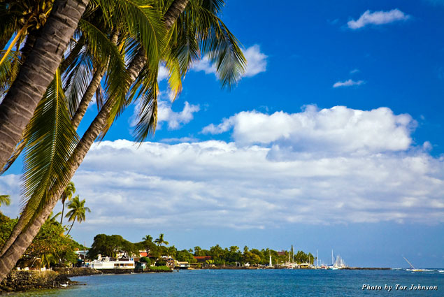 View of Lahaina town