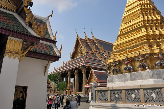 A view of the Grand Palace
