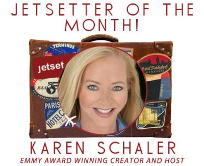 Jetsetter of the Month: Travel Therapy® TV's Karen Schaler