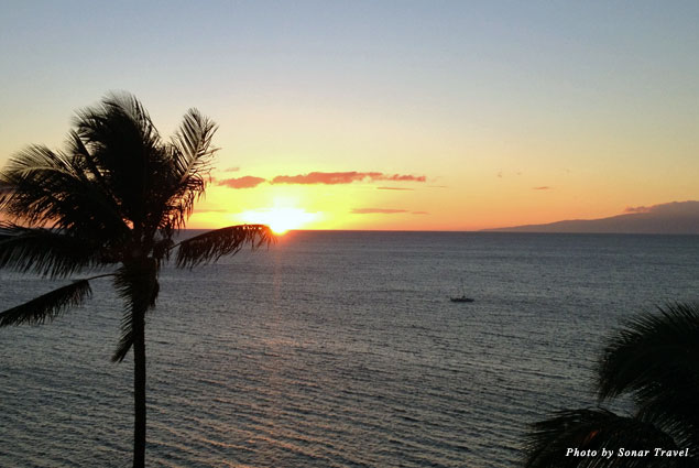 Goodnight Maui. Another picture perfect sunset