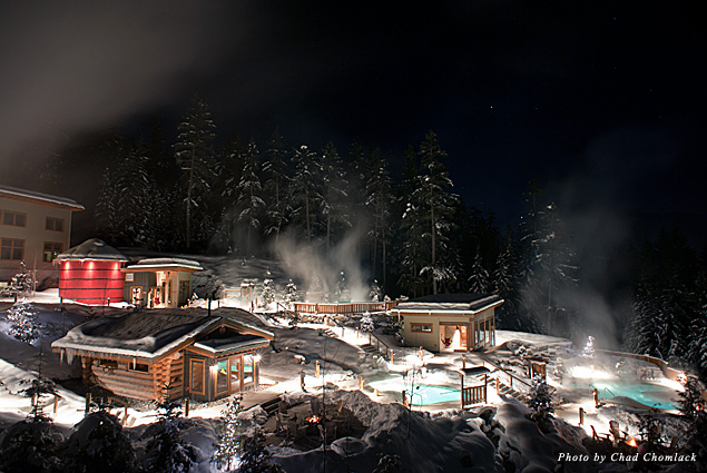 Snowy Scandinave Spa