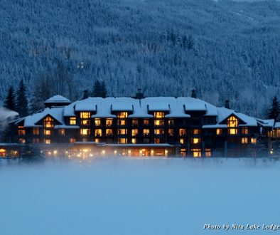 Winter in Whistler at Nita Lake Lodge