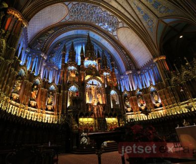Notre-Dame Basilica alter in Montreal