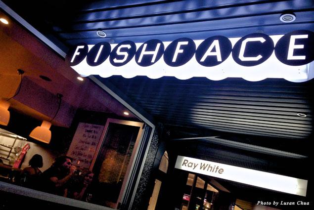FishFace Restaurant in Darling Harbour