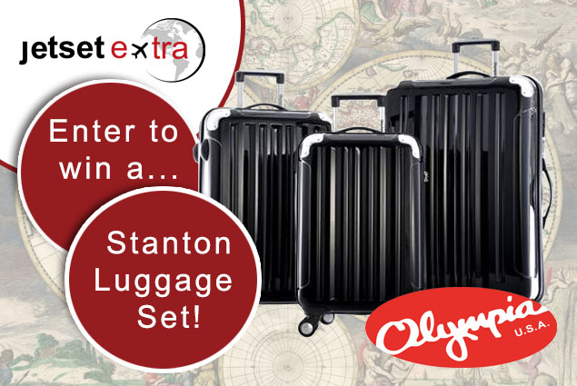 Enter to Win a Stanton Luggage Set!