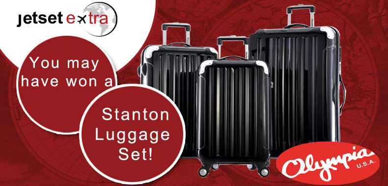 Announcing Our Stanton Luggage Set Winner!