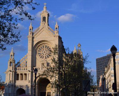 Façade of Notre Dame Church