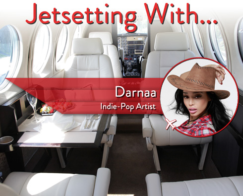 Jetsetting With Indie-Pop Starlet Darnaa
