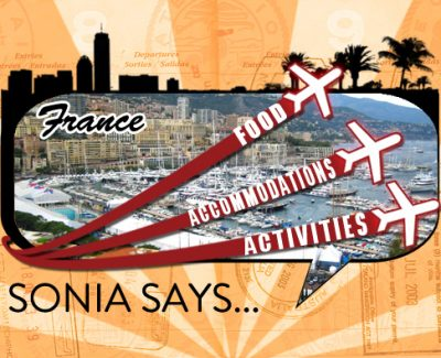 Sonia Says: It's All About Nice, France