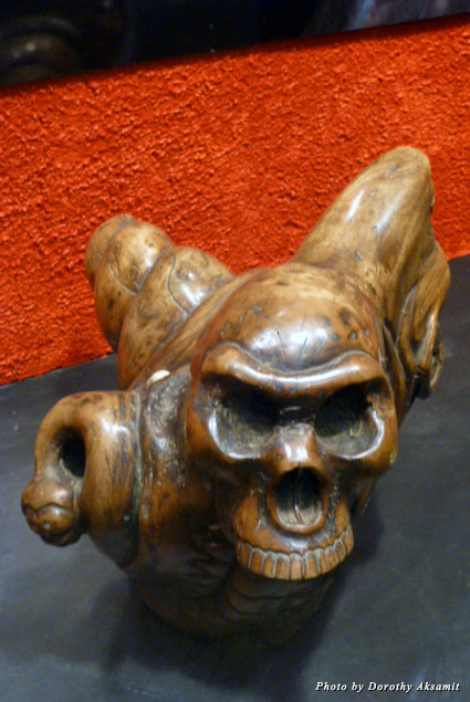 A mysterious Aztec carving captures the imagination