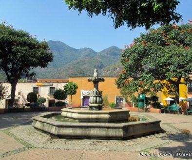 The zocolo in Malinalco