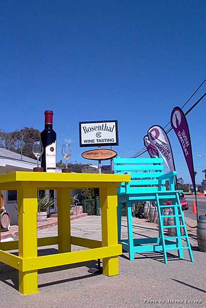 The Rosenthal Wine Bar and Tasting Room is Malibu's only tasting room on Pacific Coast Highway