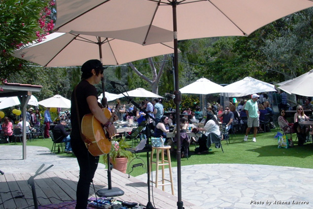 Live entertainment each weekend brings in the crowds at Malibu Wines