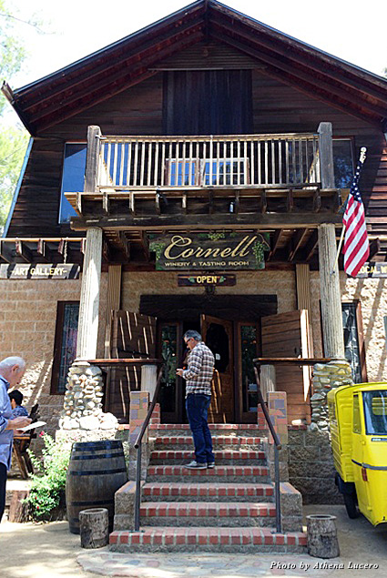Open Thursday through Sunday, Cornell Winery and Tasting Room is off the beaten path and a step back into the past