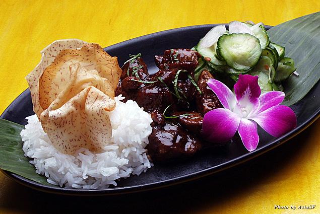 Mouthwatering lamb dish at AsiaSF