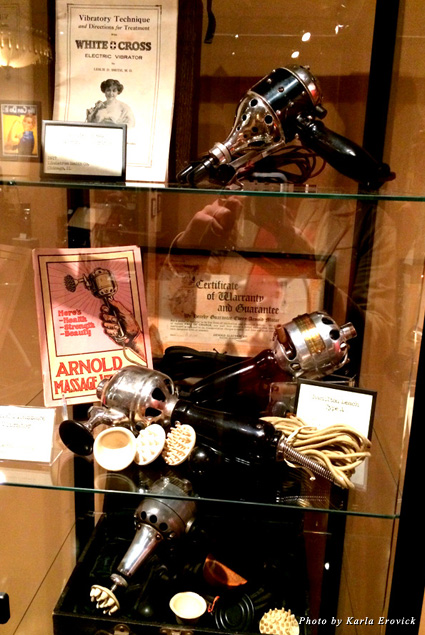 Exhibit at the Vibrator Museum