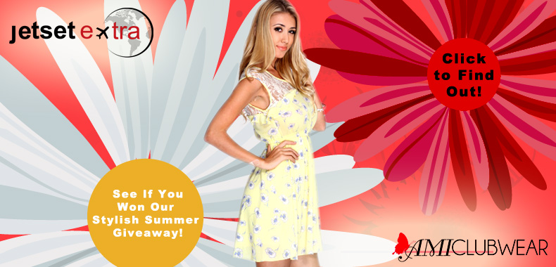 See If You Won Our Stylish Summer Giveaway!