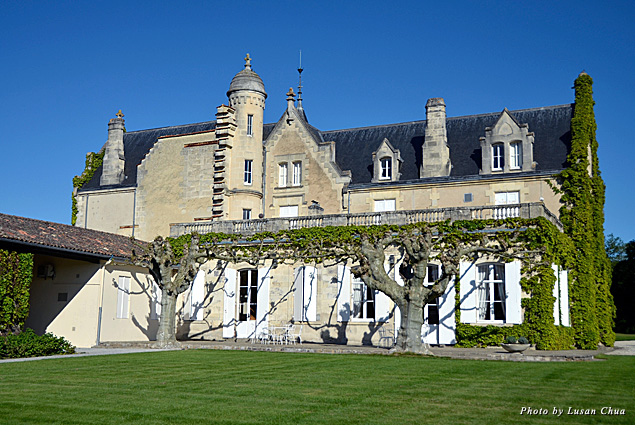 Chateau Lascombes grounds