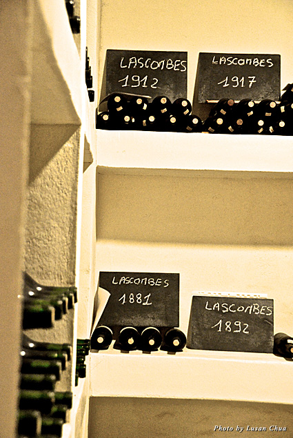 Earliest vintages of Château Lascombes wine dating back to the 17th century