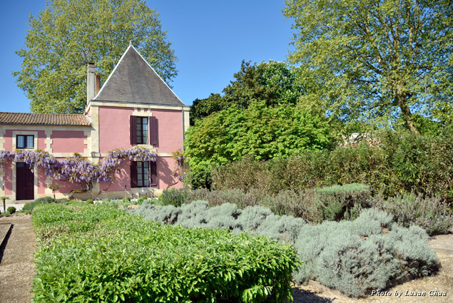 Château Siran grounds