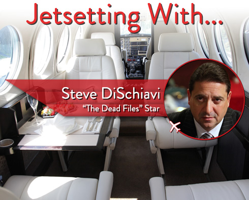 "Jetsetting With ""The Dead Files"" Star Steve DiSchiavi"