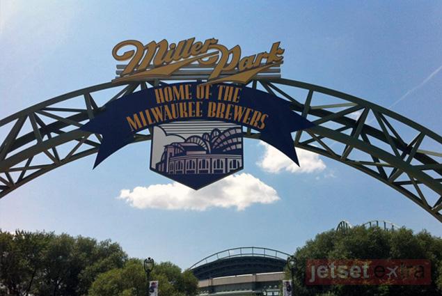 Entrance to Miller Park