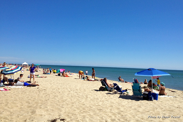 South Beach on Martha's Vineyard gives you panoramic views of the ocean