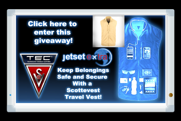 Keep Belongings Safe and Secure With a Scottevest Travel Vest!