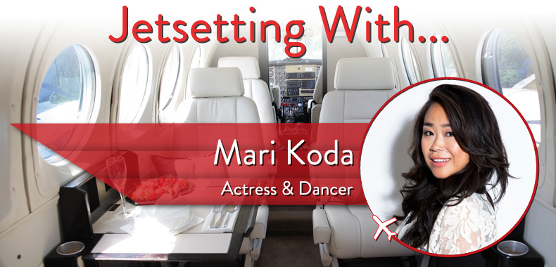 "Jetsetting With ""Step Up"" Actress and Dancer Mari Koda"