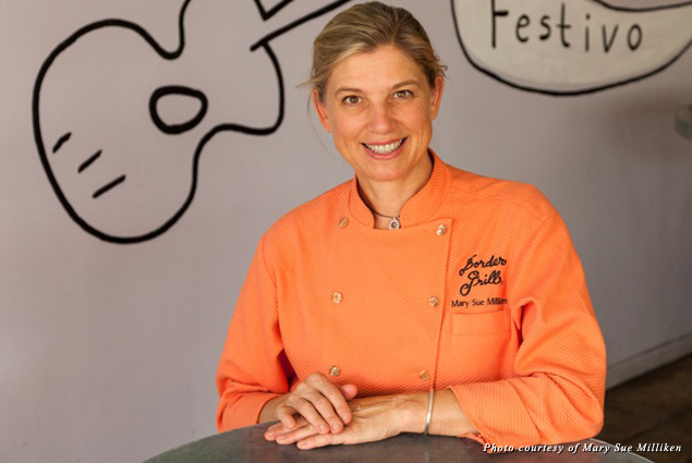 Vibrant cuisine continues to inspire Mary Sue, whether she's revamping a restaurant or planning her next getaway!