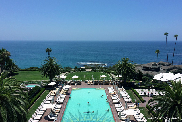 The ocean view at the Montage Laguna Beach