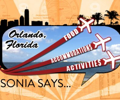 Sonia Says: It's All About Orlando