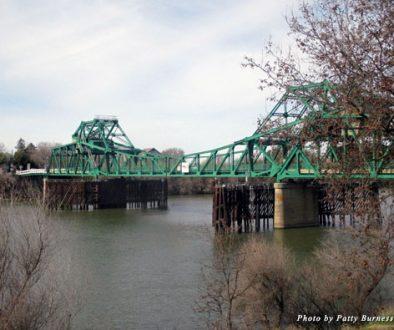 Take the drawbridge over the Sacramento River to Clarksburg