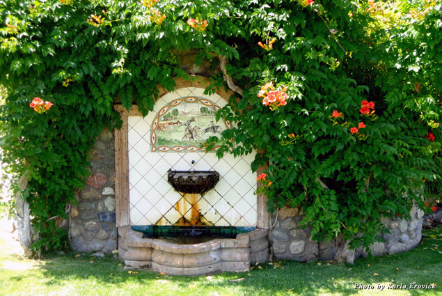 Historical artesian well at Murietta's Well Winery
