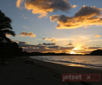 Sunrise over Nanuku Resort and Spa, Fiji