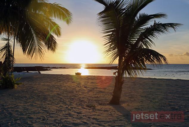 Sunset at Yasawa Island Resort & Spa, Fiji