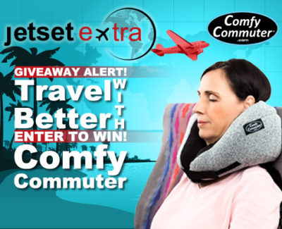 Giveaway Alert! Travel Better With Comfy Commuter