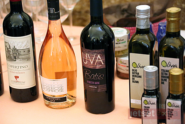 The wines and olive oils we tasted with the Winerist in Squinzano
