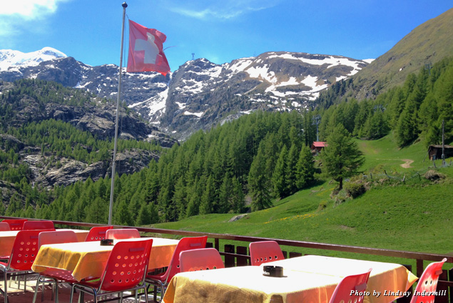 From Zermatt, hike toward the Matterhorn to villages such as Furi for traditional restaurants with unobscured views