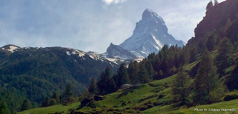 The Matterhorn is the topographic icon of Switzerland