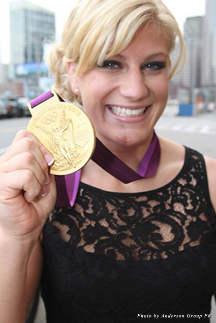 As the first American to win a gold medal in judo, Kayla Harrison is a force to be reckoned with