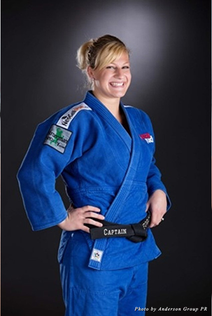The No. 1-ranked judoka is currently training to defend her gold medal in the 2016 Olympics in Rio de Janeiro.