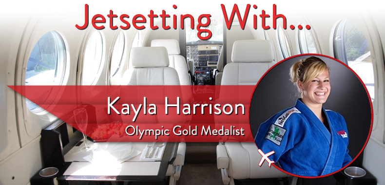 Jetsetting With Olympic Gold Medalist Kayla Harrison