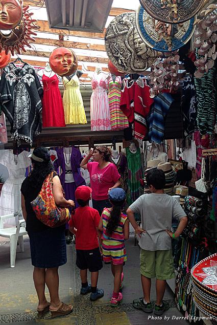 Souvenir shopping in Ensenada